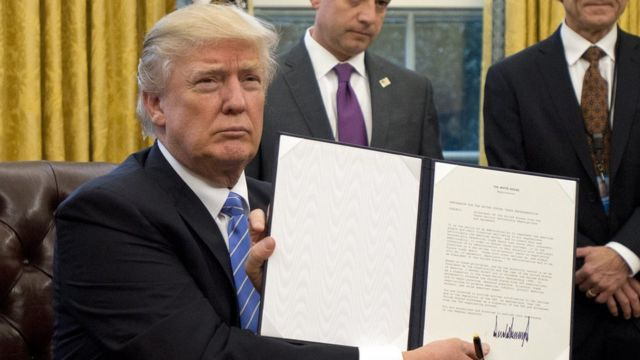 US President Donald Trump at White House