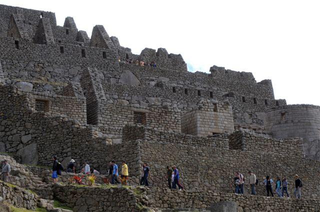 Ruinas incas en Machu Picchu