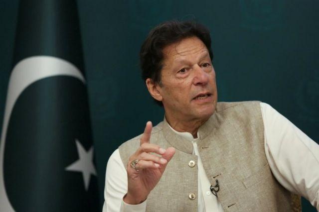 Pakistan Başbakanı Imran Khan