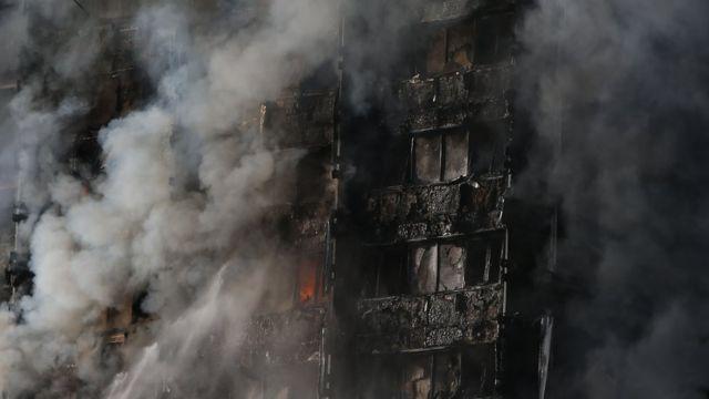 حريق في لندن