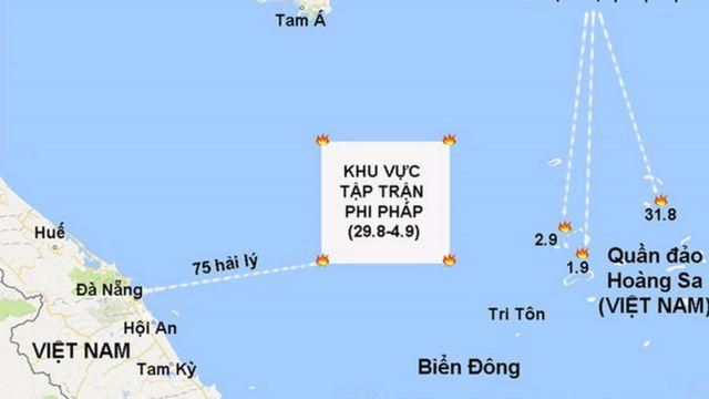 Báo Thanh Niên hôm 1/9 đưa tin website của Cục Hải sự Trung Quốc (MSA) thông báo nước này tiến hành cuộc diễn tập quân sự từ 29/08 đến 4/09/2017