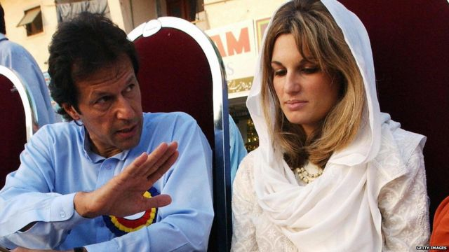 अपनी पहली पत्नी जेमिमा के साथ इमरान खान