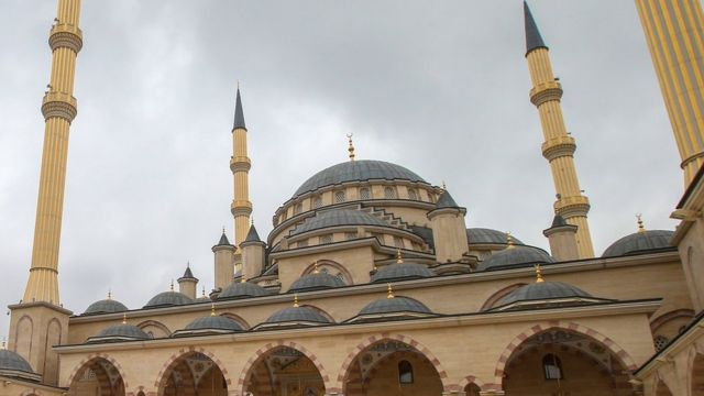 Мечеть в Грозном
