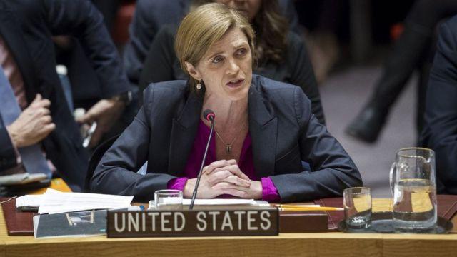 Samantha Power, embajadora de EE.UU.