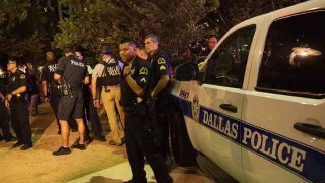 Policía de Dallas, 7 de julio de 2016