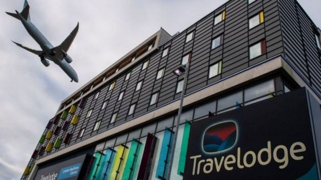 Londra Heathrow Havalimanı'nda bir otel
