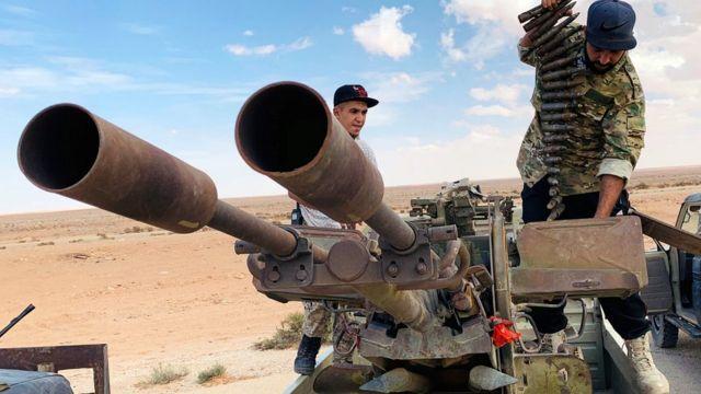 تعاني ليبيا من فوضى أمنية وسياسية منذ انتفاضة 2011