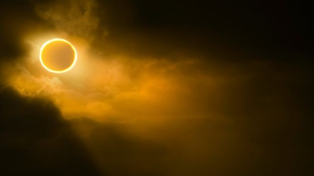 Eclipse de sol.