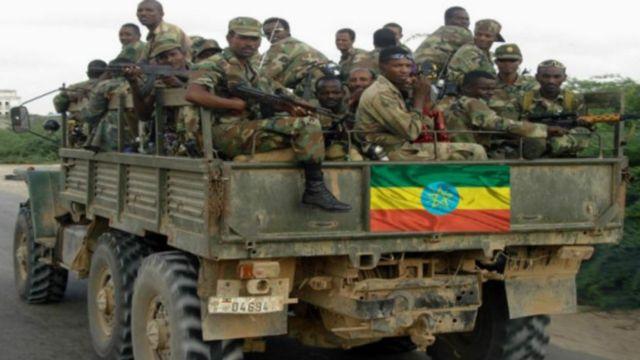 Ethiopia soldiers