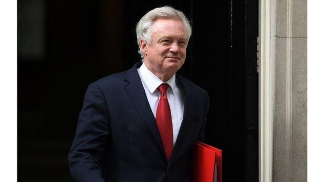 David Davis a exclu le rôle de la Cour de justice européenne dans les démarches pour garantir les droits des citoyens de l'UE après le Brexit.