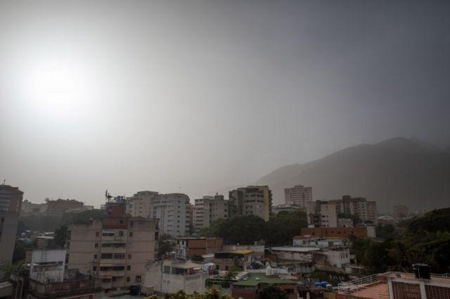 El polvo en Caracas