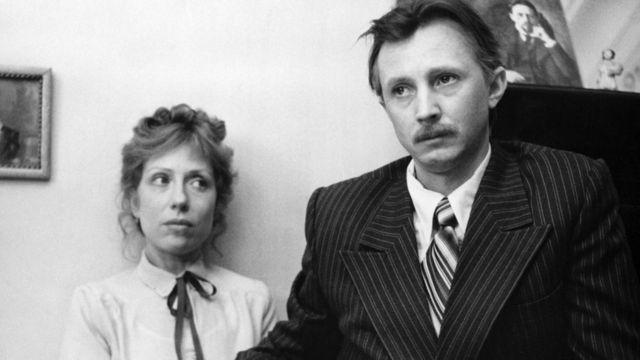 Николай Бурляев и Инна Чурикова