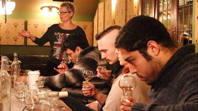 Degustación de whisky en The Flatiron Room