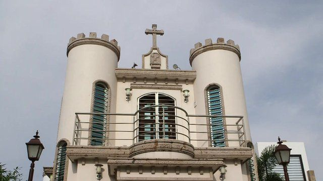 Sinaloa tomb for a cartel member