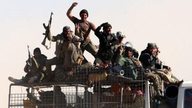 शिया बहुल पॉपुलर मोबिलाइज़ेशन सुरक्षा बल