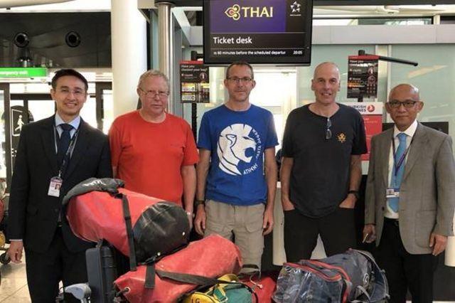 ภาพก่อนการเดินทางมายังกรุงเทพฯ