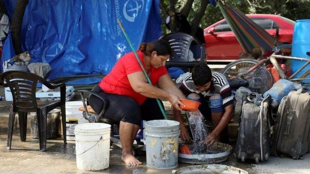 Refugiados en Honduras