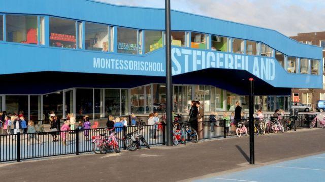 Escuela Montessori en Amsterdam.