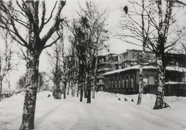Здание Британской военно-морской миссии в Архангельске на ул. Карла Маркса, 2