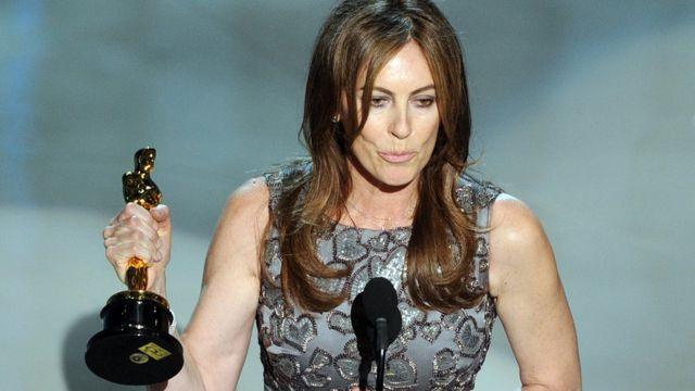 Kathryn Bigelow, al ganar el Oscar a la Mejor Directora