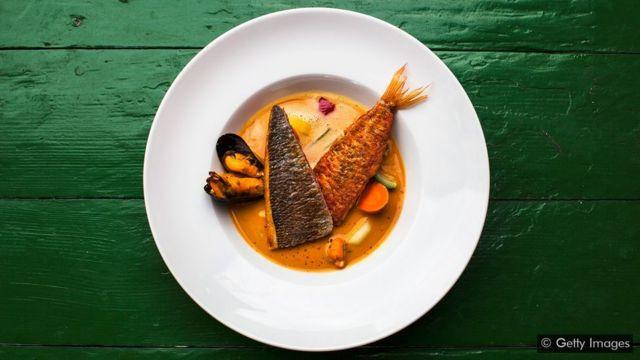 Prato de peixe