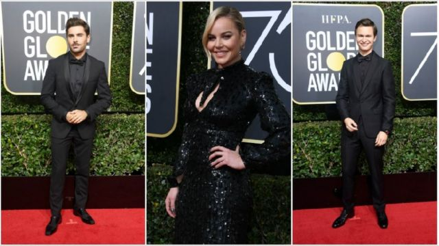 The Greatest Showman actor Zac Efron, actress and rapper Abbie Cornish and Baby Driver star Ansel Egort also showed their support for the campaign.
