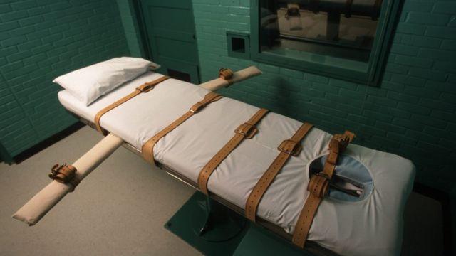 Sala de ejecución en Huntsville, Texas