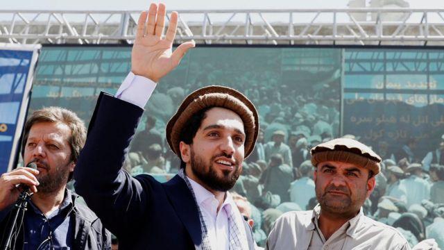 艾哈迈德·马苏德是抵抗运动的领导人之一(2019年资料照片)。