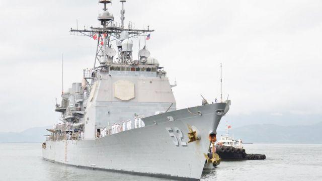 Tàu sân bay USS Theodore Roosevelt kết thúc chuyến thăm Việt Nam hôm 9/3