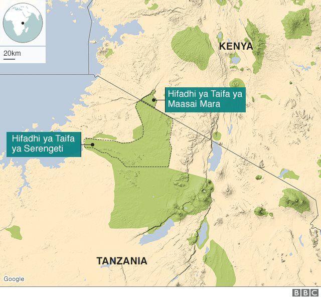 Serengeti na Masai Mara