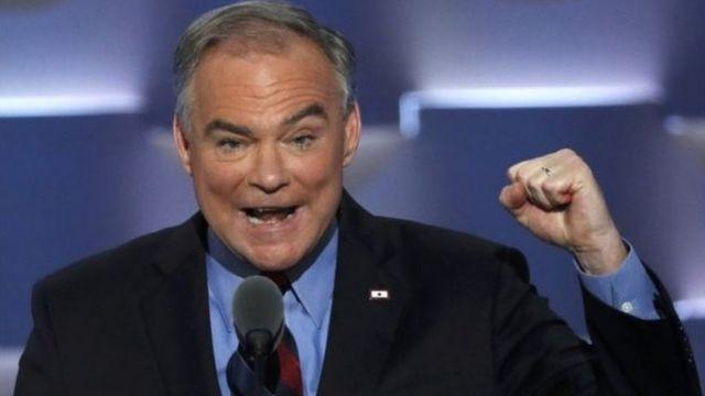 トランプ氏の物まねをしながら罵倒したケイン副大統領候補