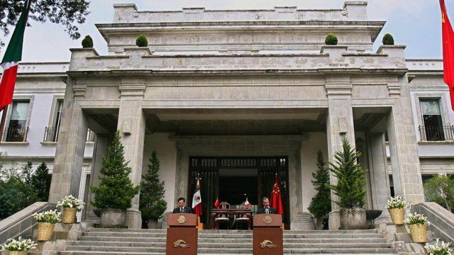 Residencia presidencial mexicana Los Pinos