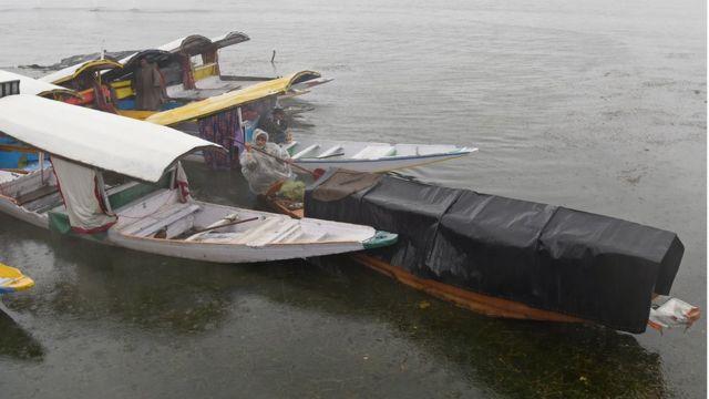 کشمیر بارش، سیلاب کا خدشہ