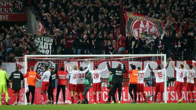 FC Koln melawan Bayer Leverkusen