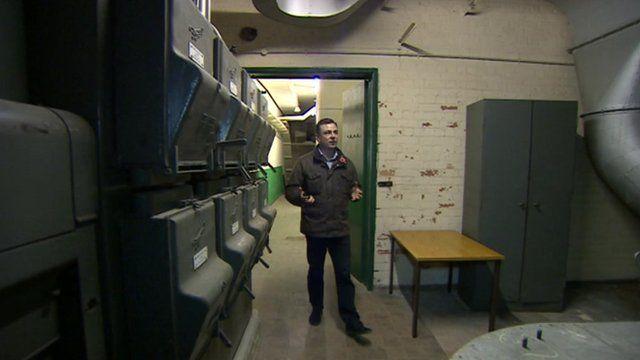 Damien O'Neill in Bunker 13