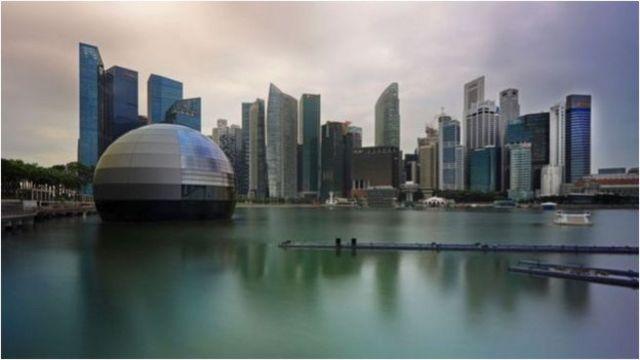 新加坡被视为中立国,与美国和中国同时维持良好关系(Credit: Getty Images)