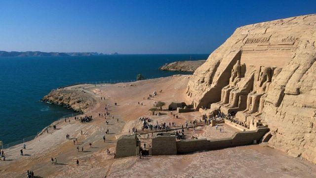 картинка фотография курорта Абу-Симбел в Египте