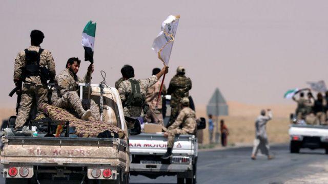 Fuerzas de FSD avanzan hacia Raqa