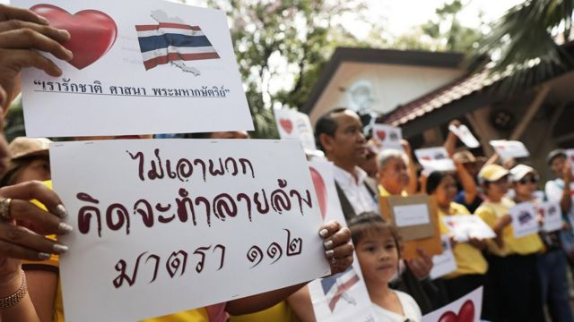 บรรดากลุ่มคนไทยหัวใจเกินร้อย