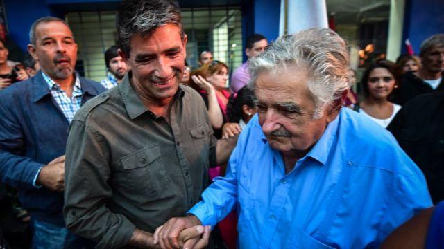 Sendic y Mujica