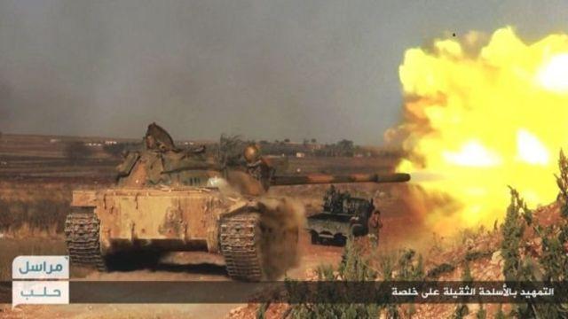 सीरिया में लड़ाई