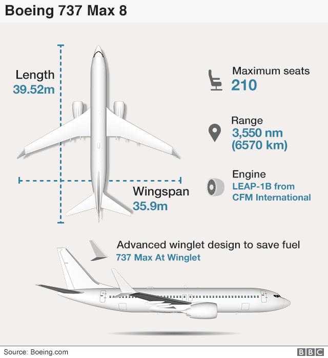 Graphic: Boeing 737 Max 8