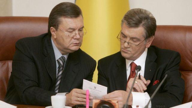 Ющенко Янукович