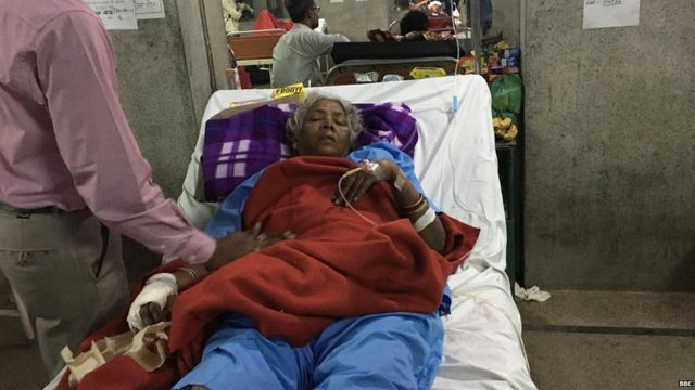 कानपुर रेल हादसे में घायल कमला