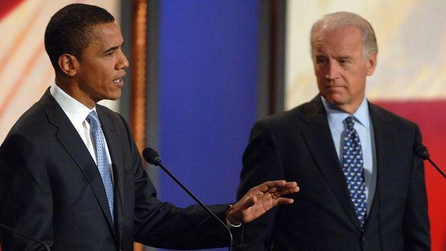 Obama y Biden en 2007