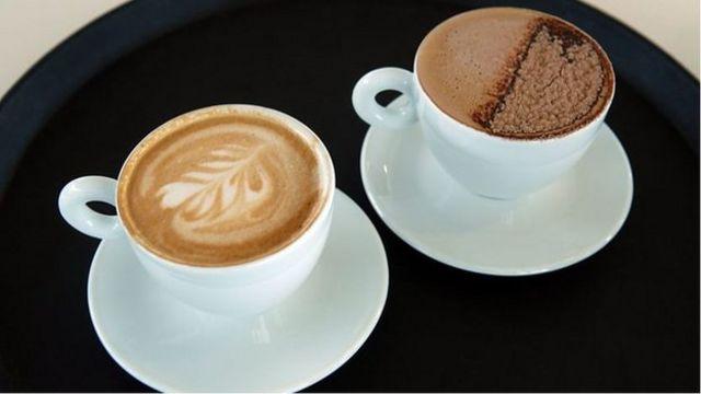 你能分辨出拿铁咖啡和摩卡咖啡吗?