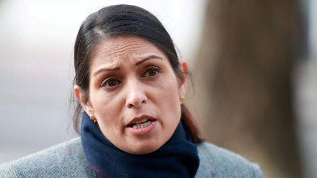 İngiltere İçişleri Bakanı Priti Patel