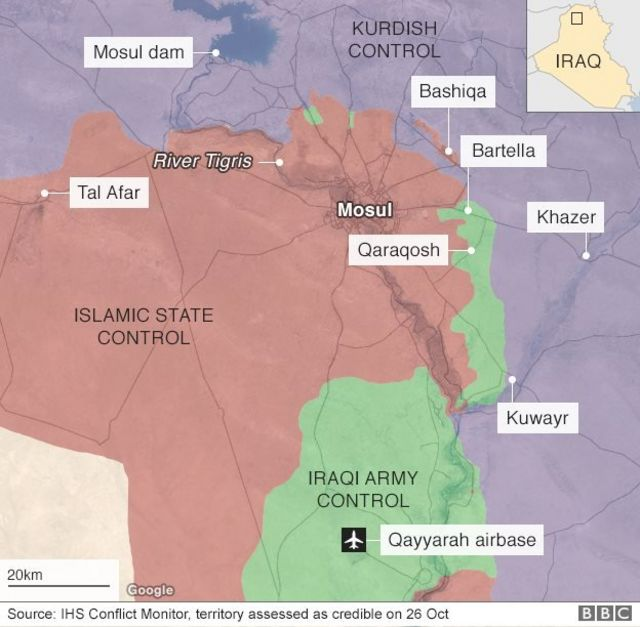 Mosul, ISIS