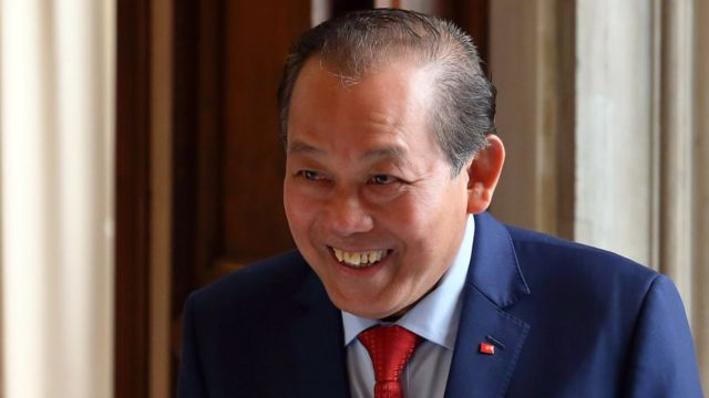 Phó Thủ tướng Thường trựcTrương Hòa Bình đang là Trưởng Ban Chỉ đạo 389 quốc gia