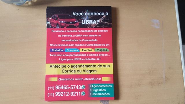 Panfleto da Ubra